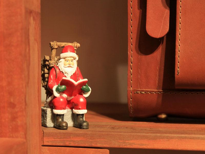 博多店 クリスマスディスプレイ1