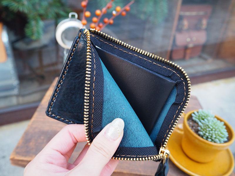 ミニ財布のパーツ