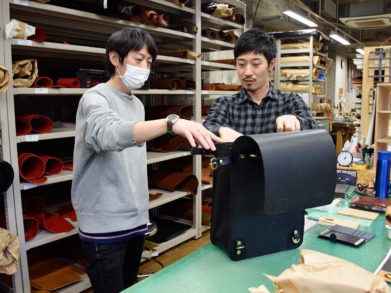 大阪店の作り手:今井と名古屋の向