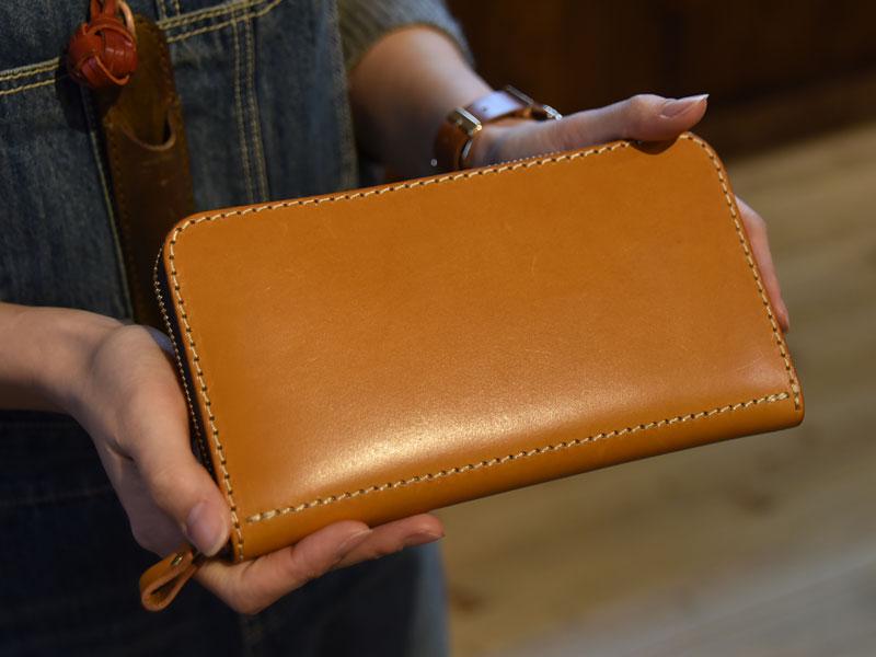 大きい長財布