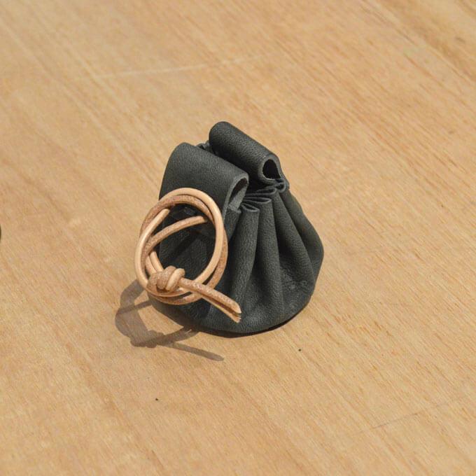 巾着コインケース(NU-COIN)