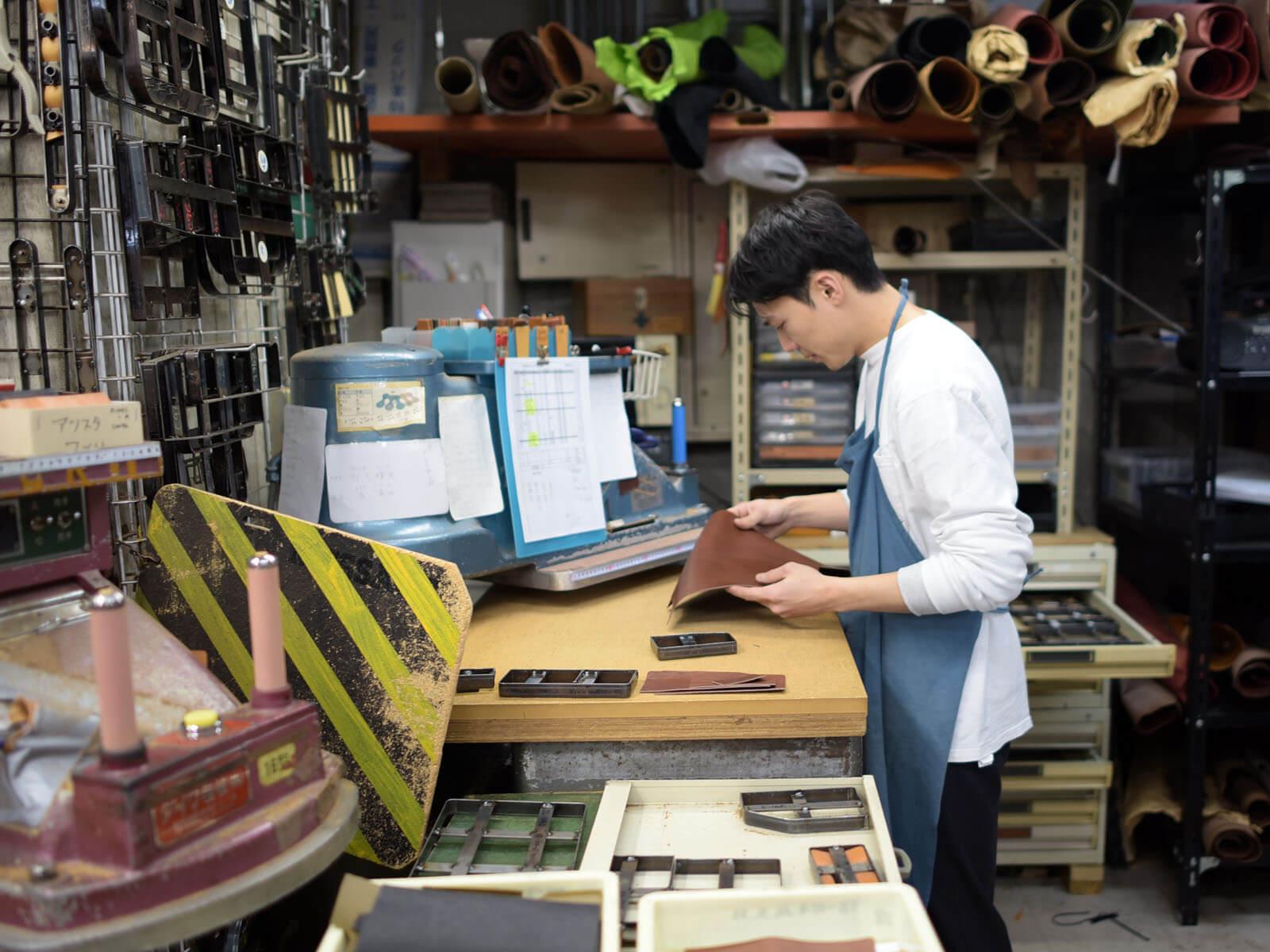 ちょっとしたプレゼントにもお勧め!彩り豊かな革小物 ~渋谷工房作り手:隆太郎~