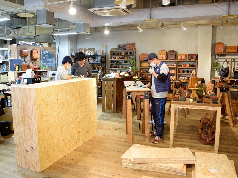 名古屋店レイアウト変更1