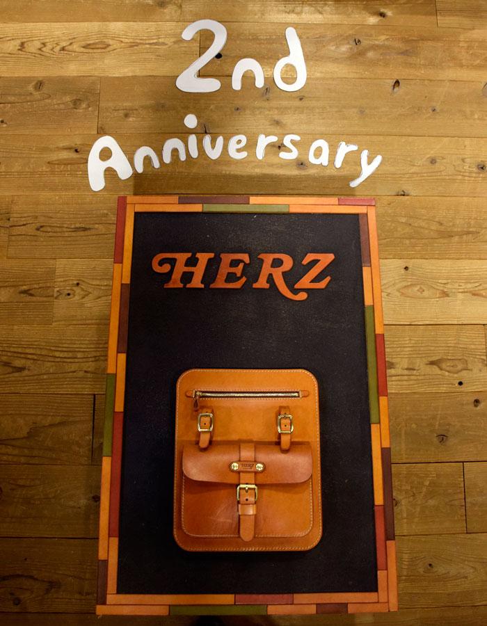 2周年記念鞄も近日中にお披露目