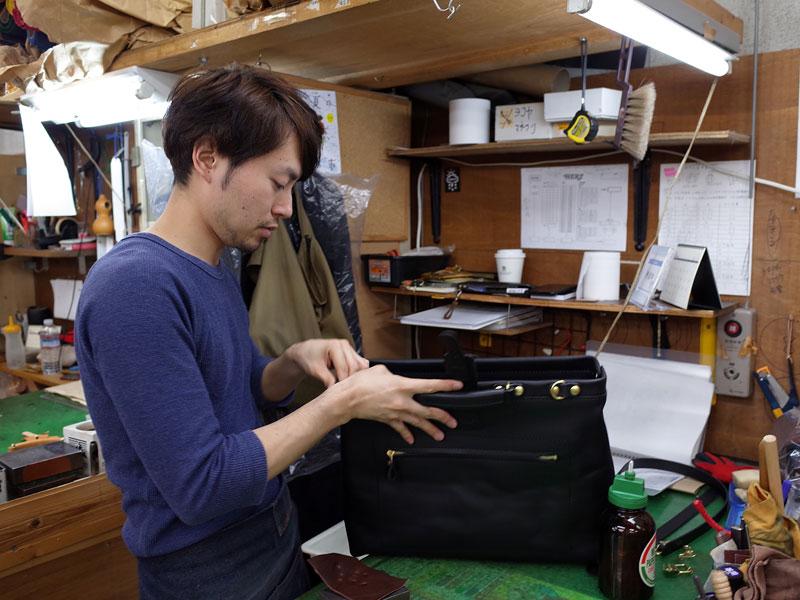 渋谷工房作り手の高山