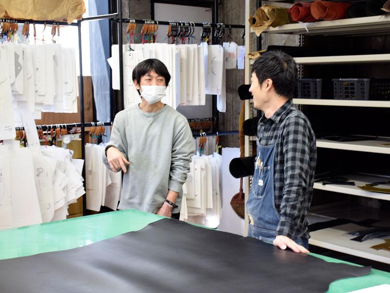 コラボ相手に選んだのは、大阪店の作り手:今井