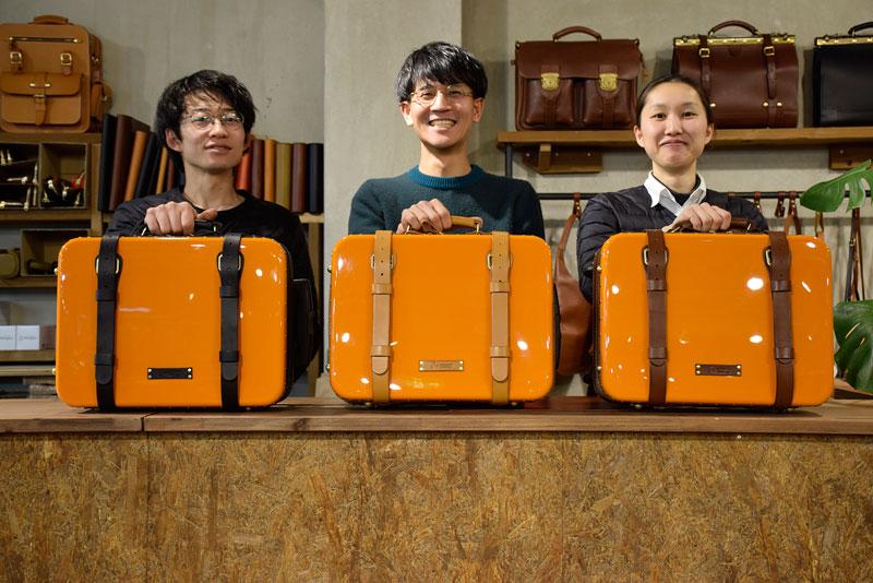 トロリーバッグと名古屋のスタッフたち