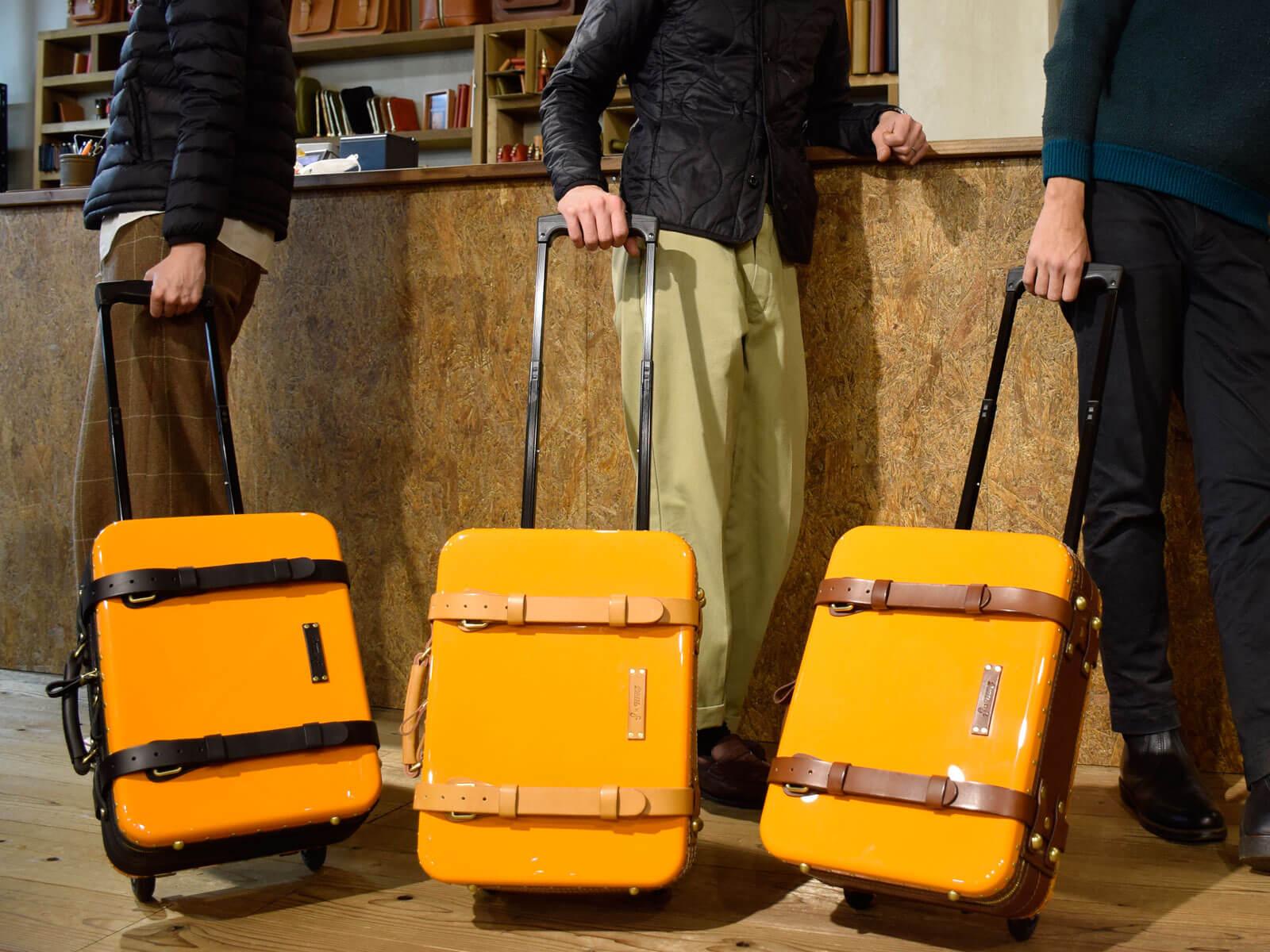 HERZ初!名古屋店2周年記念でトロリーバッグの限定販売!