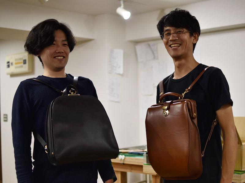 作り手の田中と宮崎