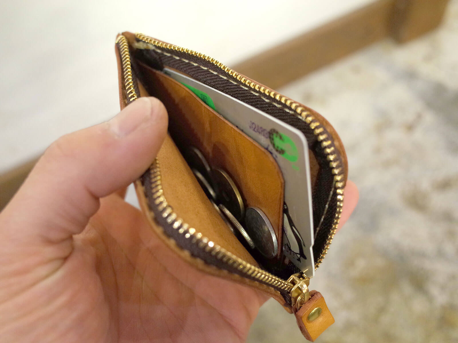 小銭、カード