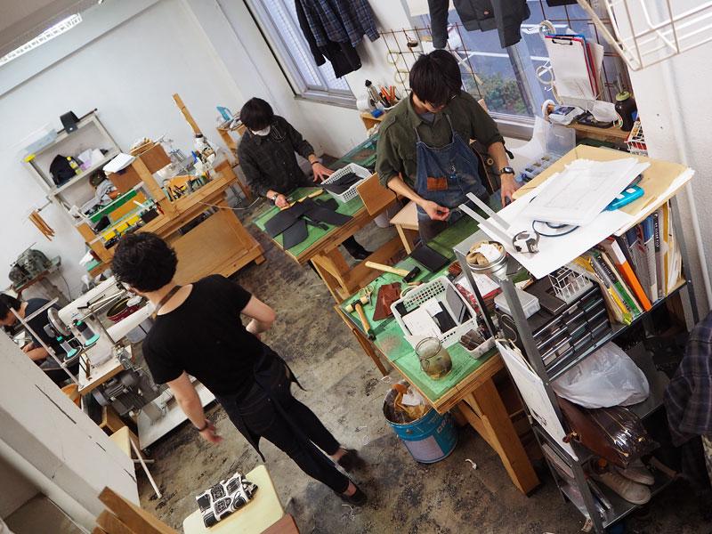 大阪店 工房風景