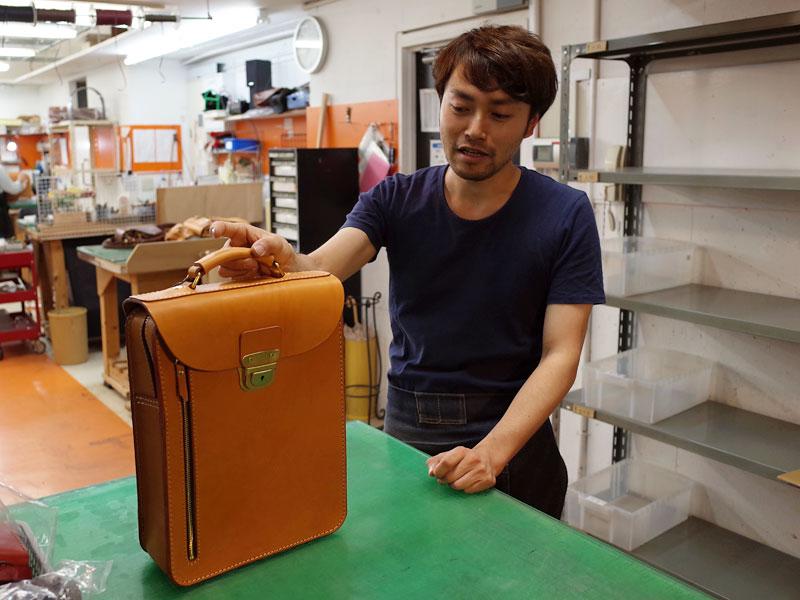 作り手:高山のバッグ