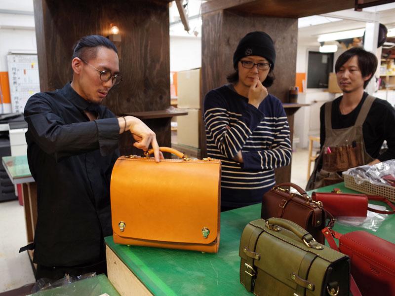 作り手:斎藤の総かぶせバッグ