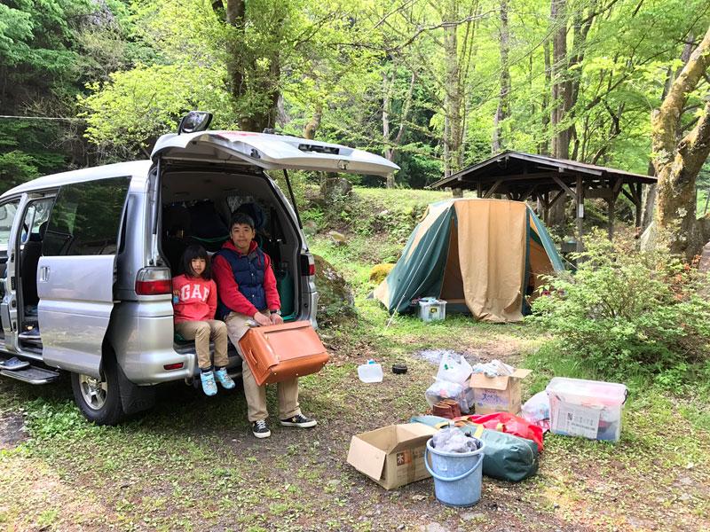 キャンプとボストラ