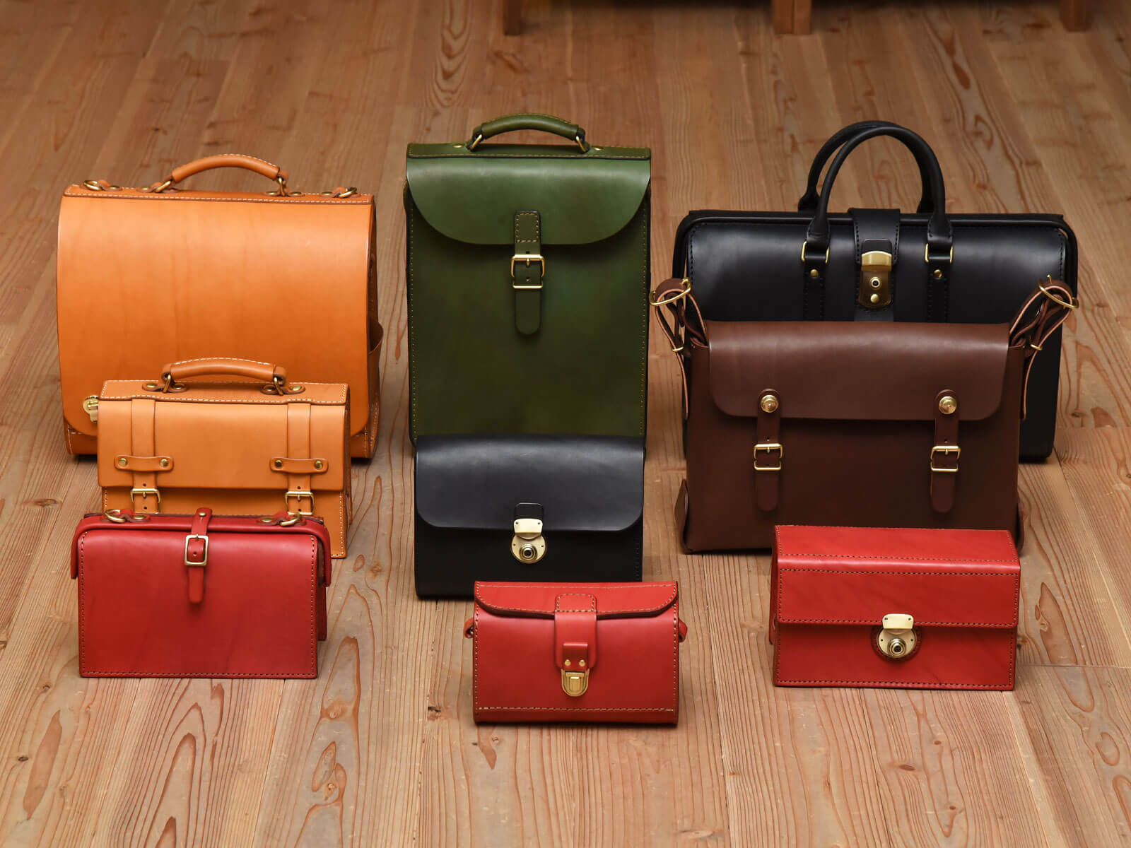 HARD LEATHER BAGS 2018