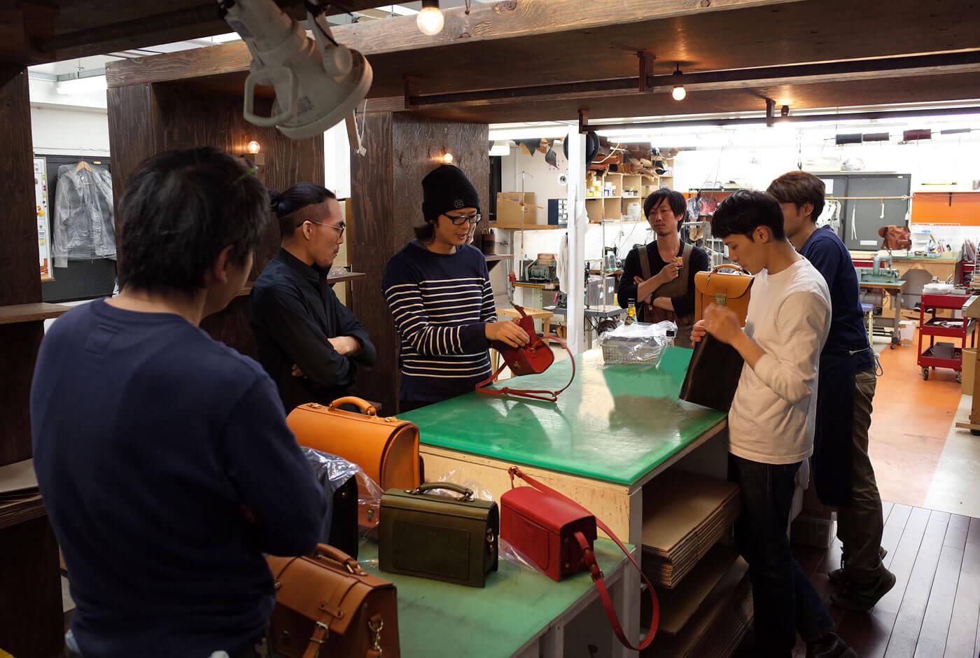 渋谷工房の作り手が新商品作りを担当