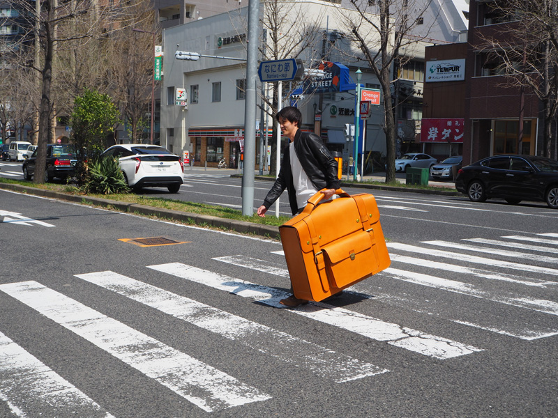 佐藤の通勤風景