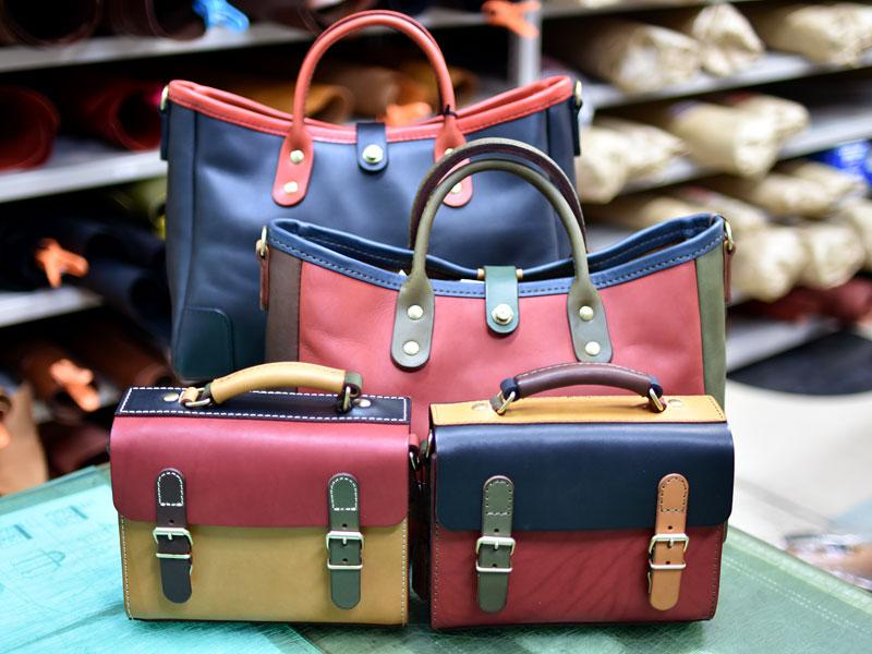 博多店スーパーカラーのバッグたち2