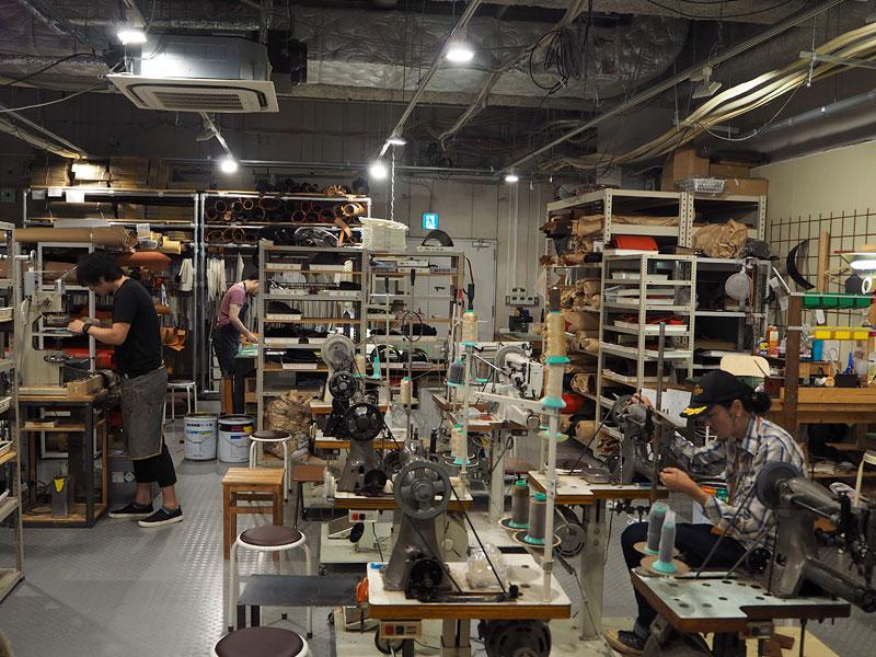 大阪店の工房を整理整頓