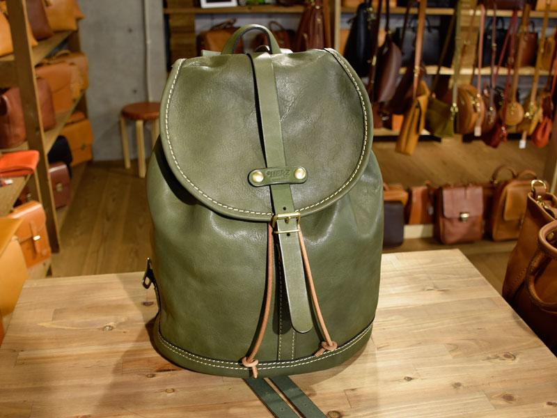 デッドストックの革で作った鞄3