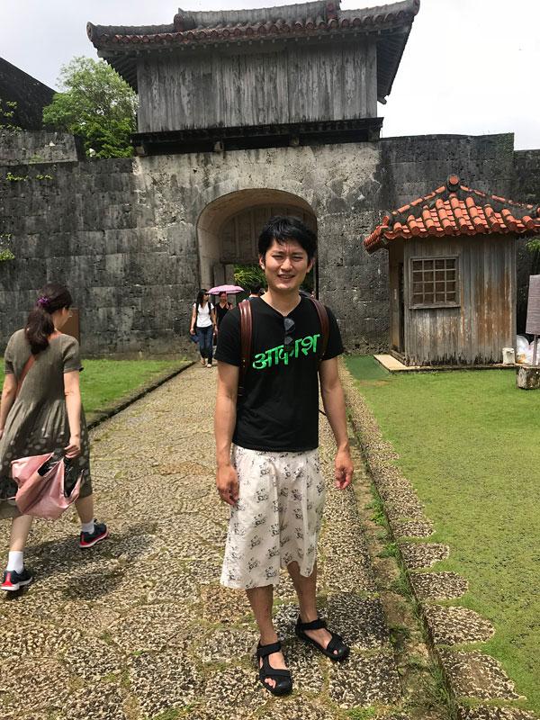 首里城と木村