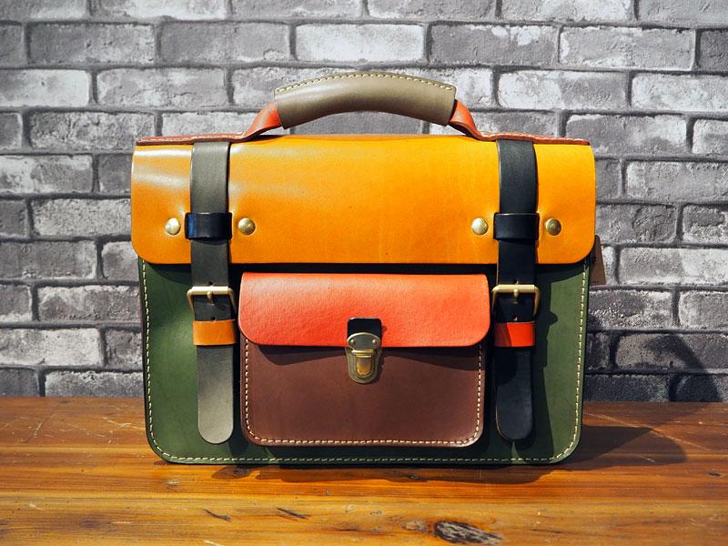 学生鞄風・2wayビジネスバッグ(BC-16) スーパーカラー1