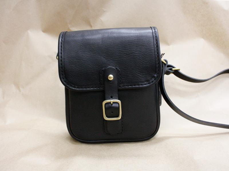 読書鞄-革色ブラック