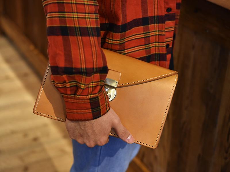 フラップセカンドバッグ(S-1)その2