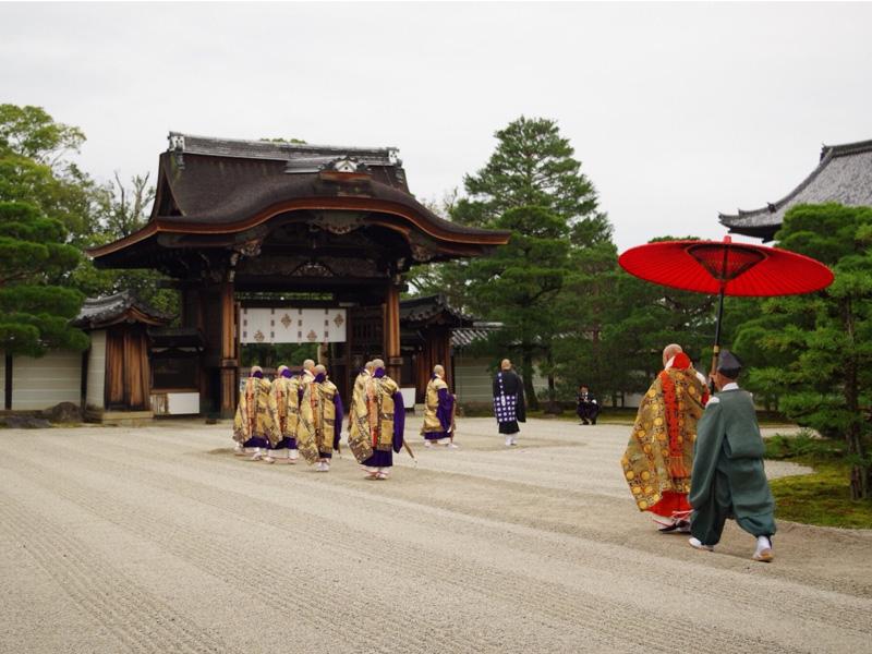 大阪研修時、晋山式の様子