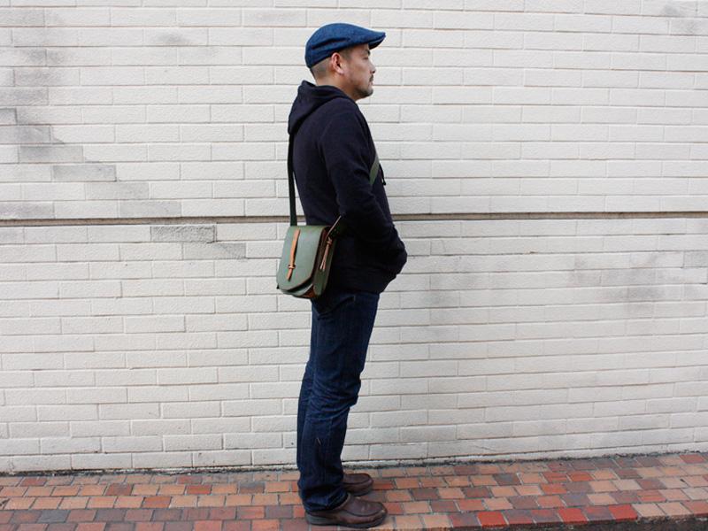 メタルフリーバッグ着用例2