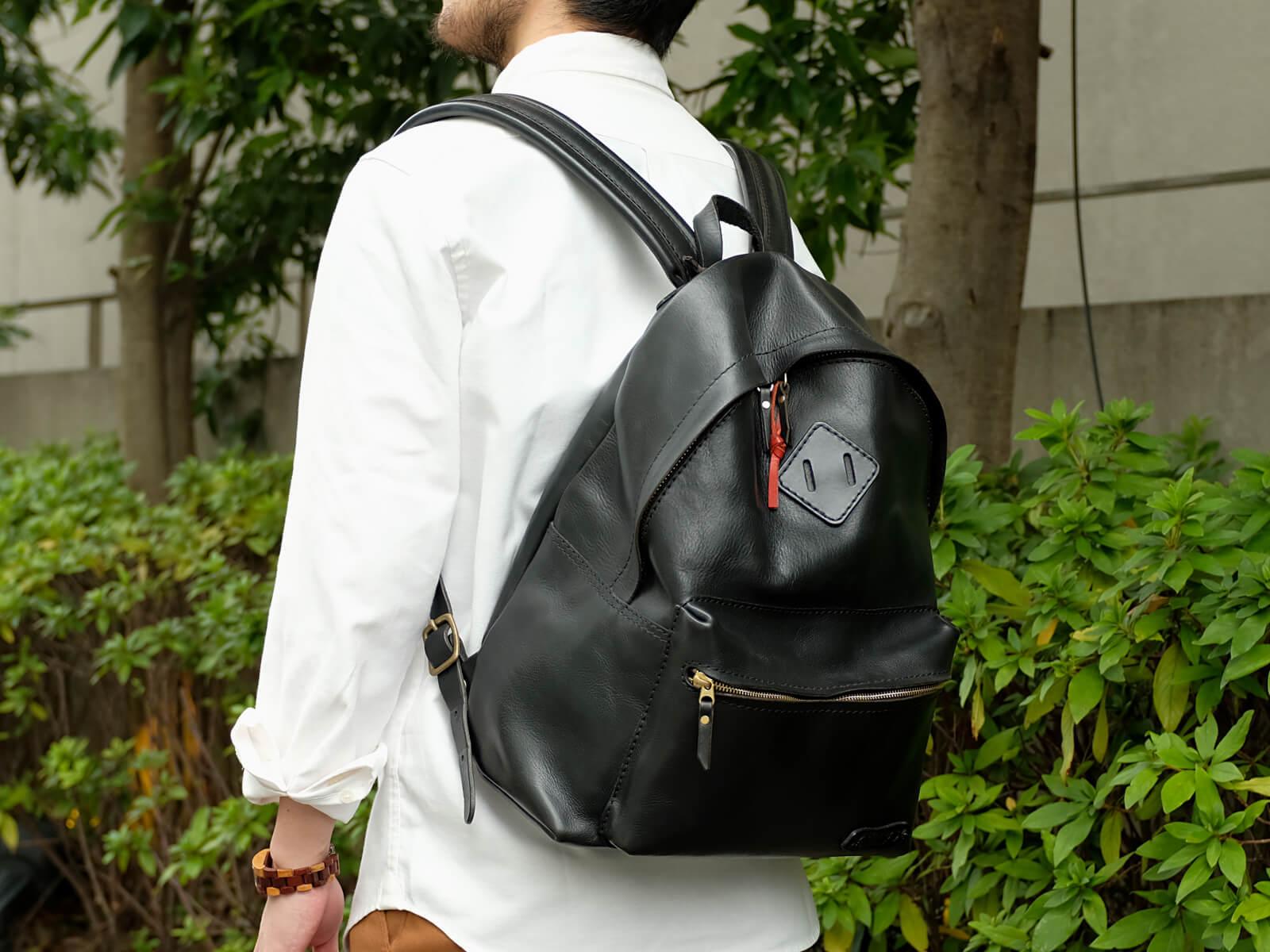 オンラインスタッフ:斎藤愛用「デイパック」