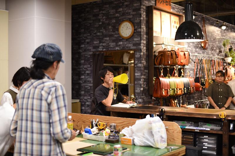 大阪店の作り手:今井