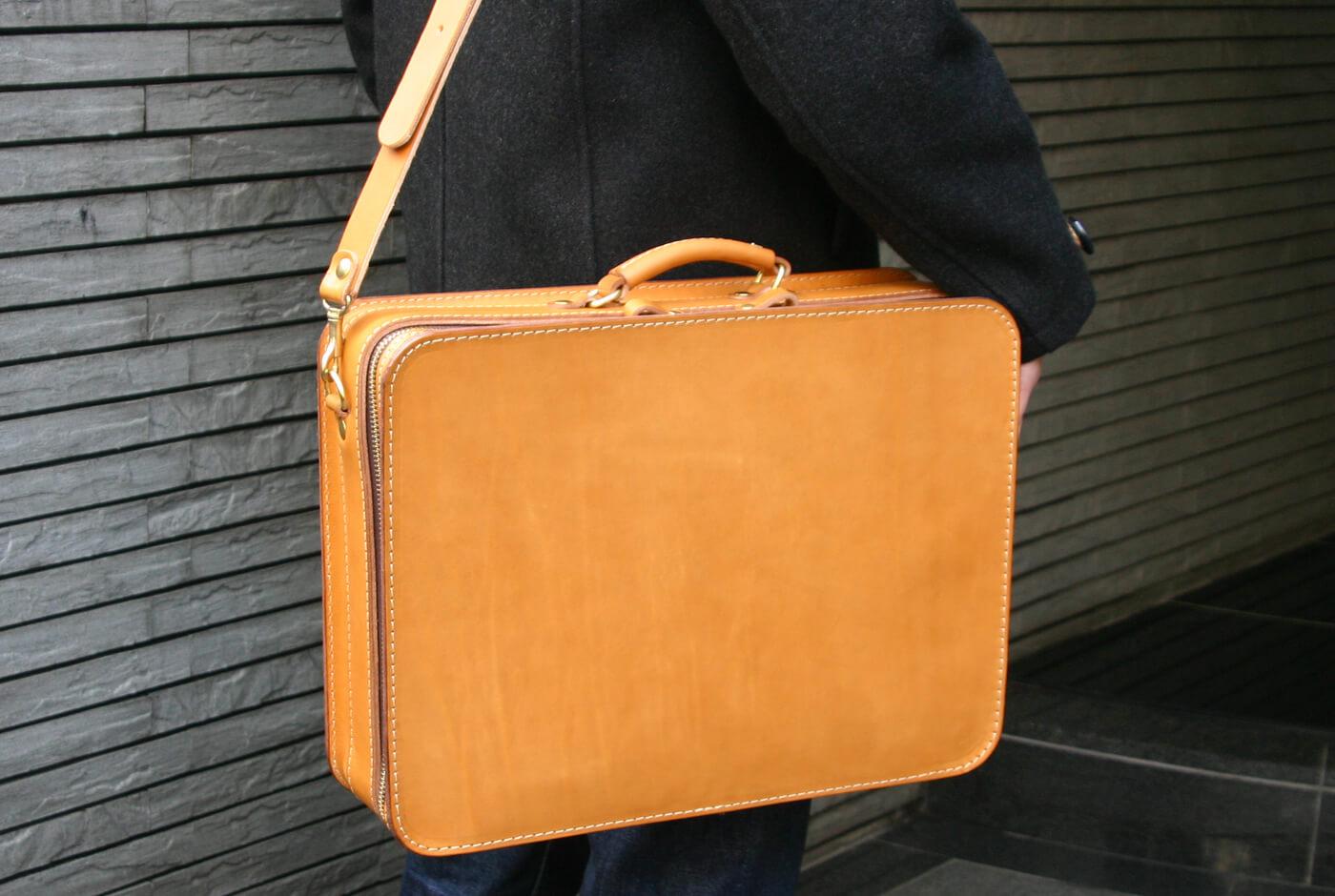 出張カバンにおすすめ 箱型鞄・2wayビジネスバッグ(BF-40)