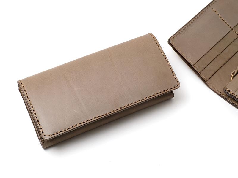 【グレー特別仕様】カード収納に強い長財布(WL-56)