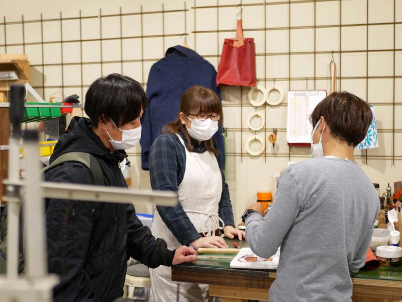 大阪店の作り手たち
