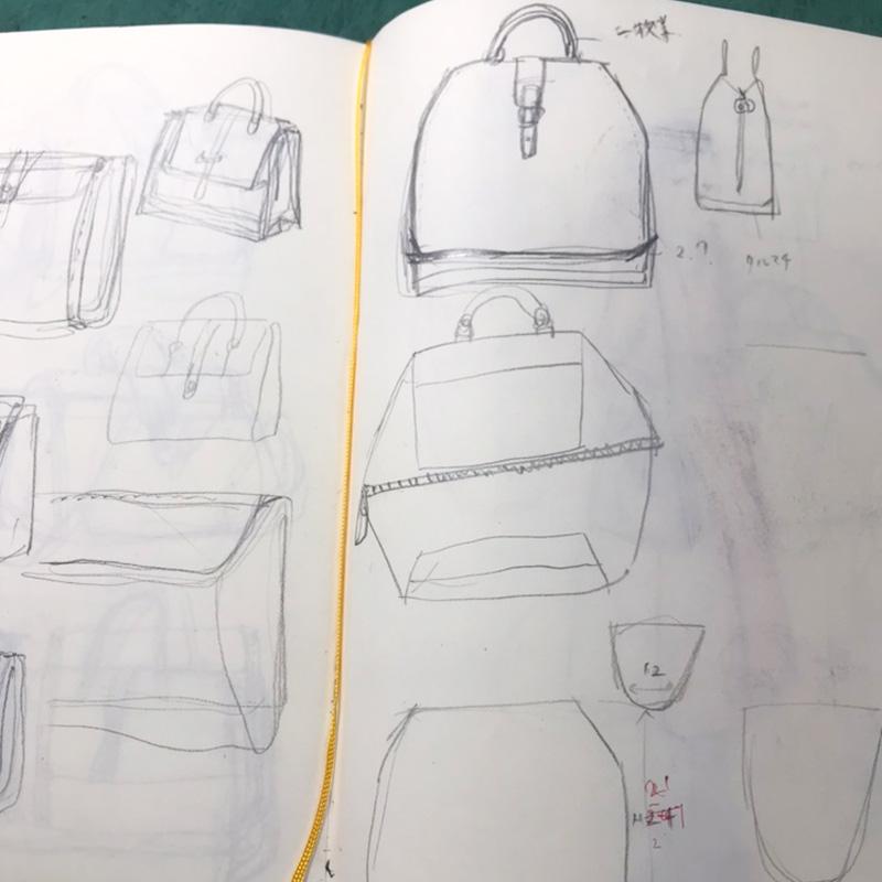 WALL handbag制作過程その4