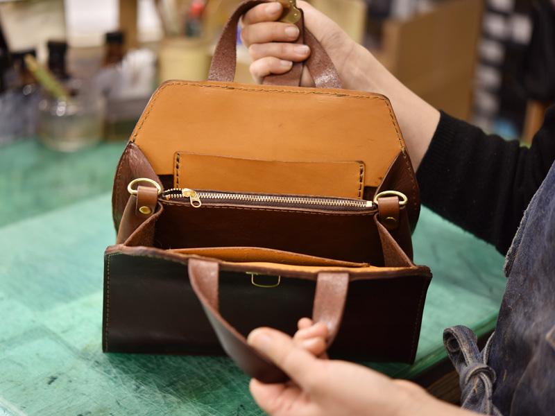 WALL handbag制作過程その7