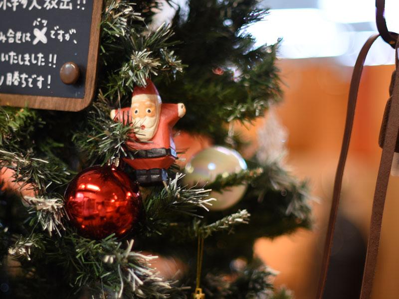 本店クリスマスディスプレイ1