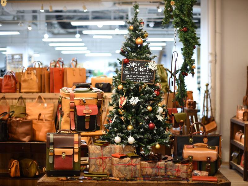 本店クリスマスディスプレイ6