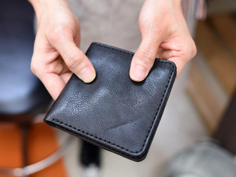 スリム財布 手持ち