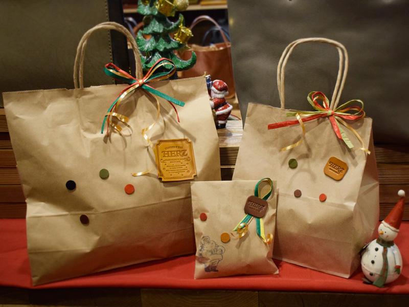 名古屋店、クリスマスラッピング承ります