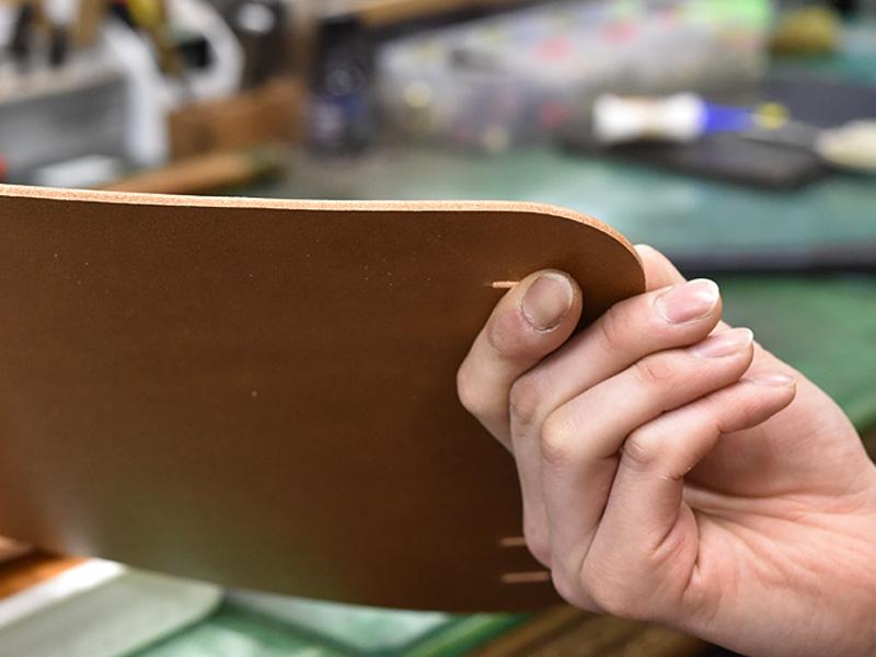 ランドセルの革の厚み