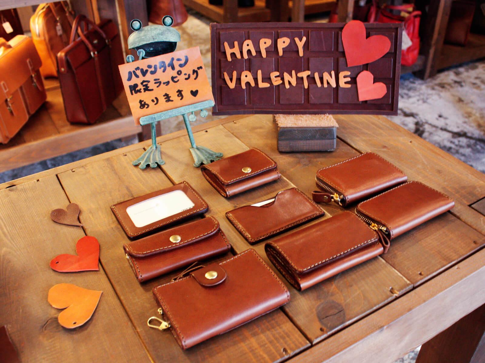「チョコ革」あります!バレンタインコーナー in仙台店