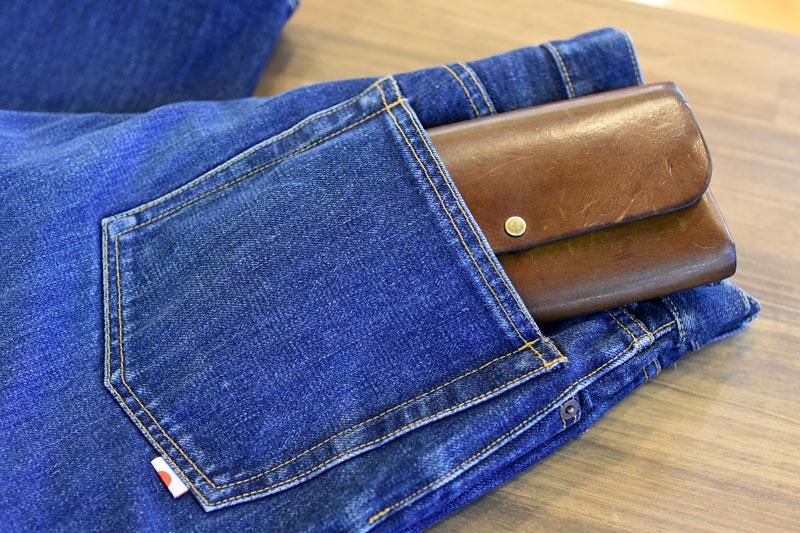 ダブルフラップ長財布(WL-2) ズボンのポケット