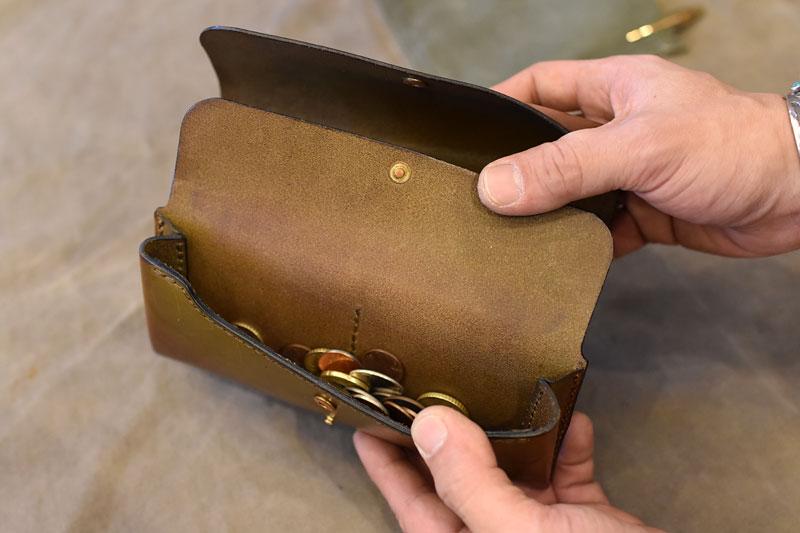 ダブルフラップ長財布(WL-2) 小銭入れ