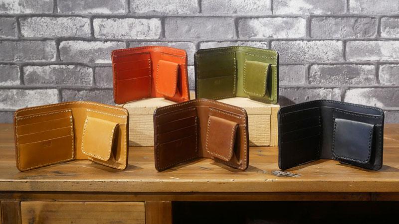 二つ折り財布(WS-8) カラー