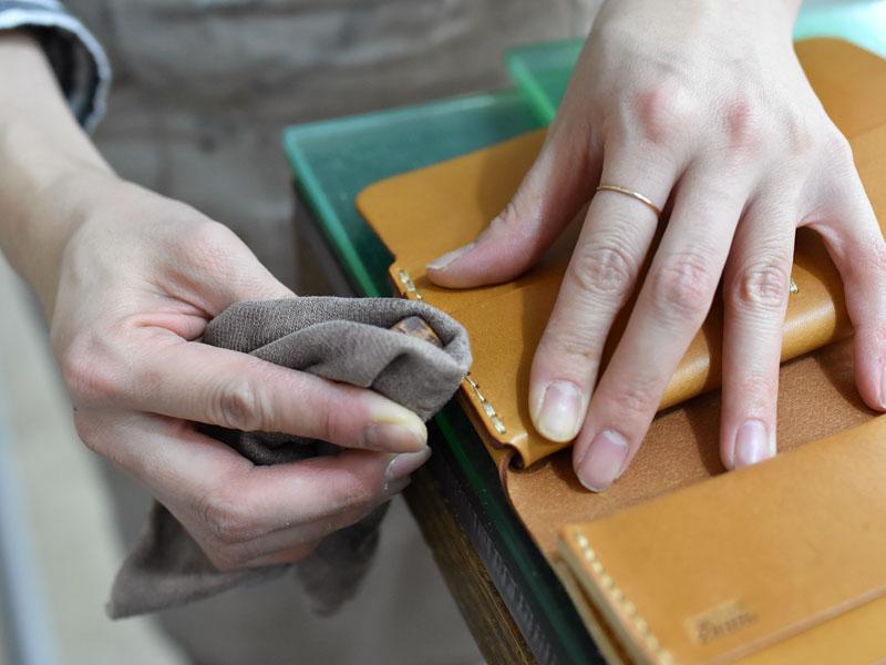 財布のメイキング18