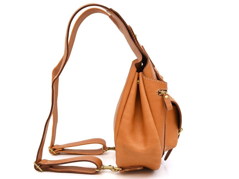 着る鞄・ポケット付き(R-14) 側面