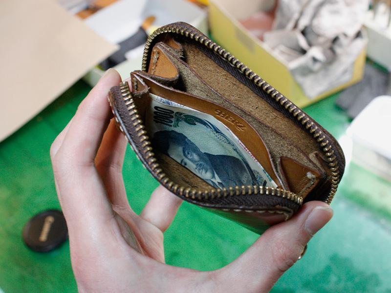 コンパクト財布(KK-59)実際の収納例その2