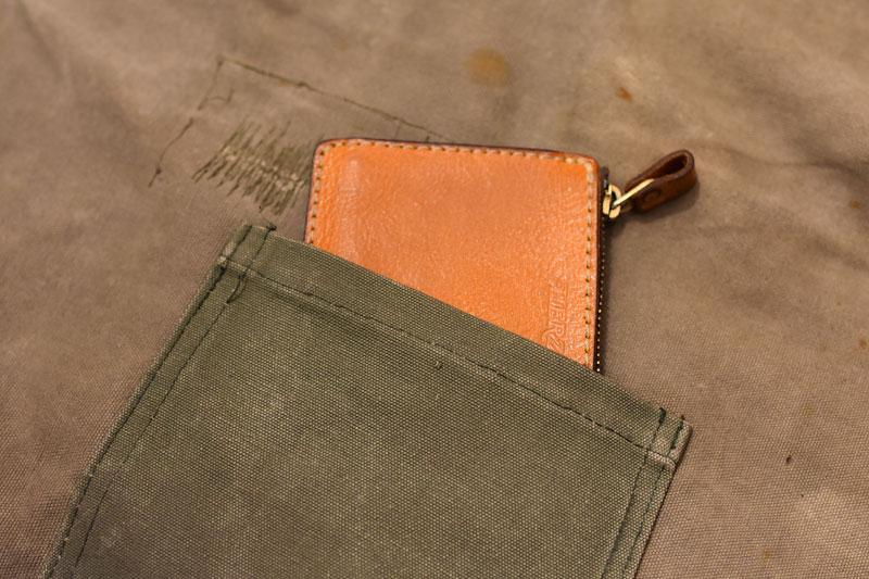 L字ファスナーミニ財布(KK-38) ポケット収納